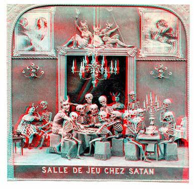 Salle de jeu Chez Satan